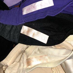 Cacique Intimates & Sleepwear - Lot of 3 Cacique 40DD Plunge Push-up Bras